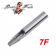 7F - Flat Stainless Steel Tip