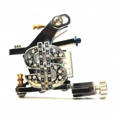 Silver Dollar Tattoo Machine