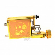 Tiger Rotary Tattoo Machine Gold