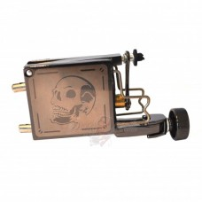 Skull Rotary Tattoo Machine Silver