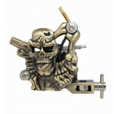 Skull & Gun Tattoo Machine