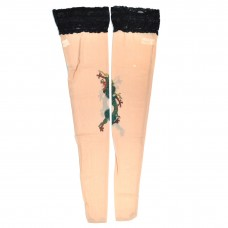 Tattoo Stockings - Green Dragon (TS09)