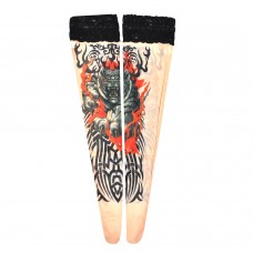 Tattoo Stockings - Tiger & Tribal (TS14)