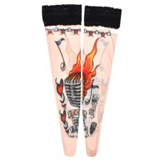 Tattoo Stockings - Rock 'n' Roll (TS17)