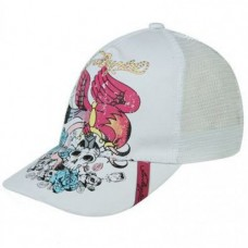 Los Angeles White Trucker Cap Ladies