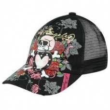 Los Angeles Black Trucker Cap Ladies