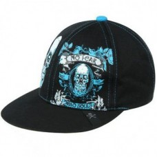 No Fear Skull Black Cap
